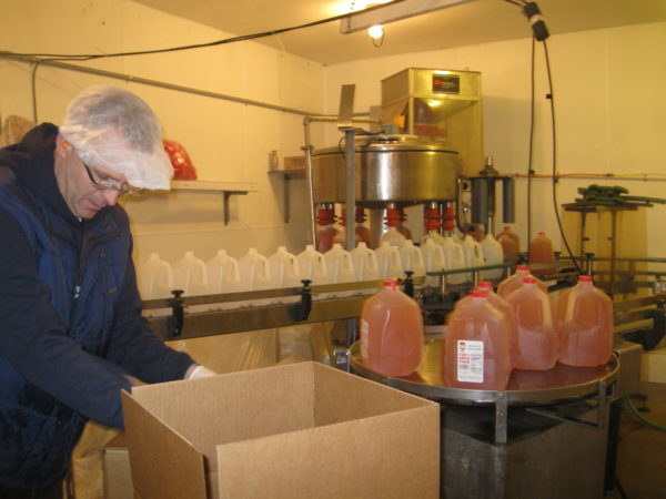 Bauman Orchards - Cider Production